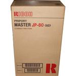 Ricoh - scatola 2 matrici jp80 (255matrici/rotolo) jp8000 jp8500 893128