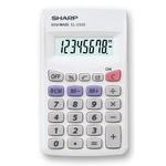 Sharp - calcolatrice - tascabile, EL233SB, 8 cifre