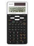 Calcolatrice scientifica EL 506TS - 2 linee - bianco - Sharp