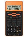 Calcolatrice scientifica EL 509 - 2 linee - Arancione - Sharp - EL509TSBYR
