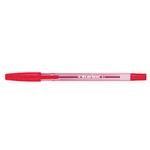 Penna a sfera con cappuccio  - punta fine 0,7mm  - rosso - Starline -  conf. 50 pezzi