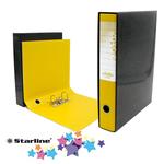 Registratore Kingbox - dorso 5 cm - protocollo 23x33 cm - giallo - Starline