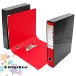 Registratore starline kingbox dorso 5cm f.to protocollo - colore rosso