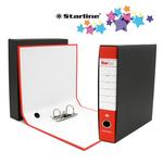 Registratore Starbox - dorso 5 cm - commerciale 23x30 cm - rosso - Starline