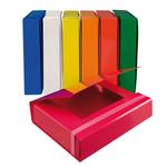 Cartella progetto - con elastico - dorso 7 cm - rosso - Starline