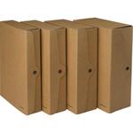 Scatola progetto - dorso 10 cm - 25x35 cm - cartone FSC - avana - Starline