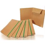 Cartellina con elastico - cartoncino FSC - 3 lembi - elastico colorato piatto da 20 mm  - 25x35 cm - Starline