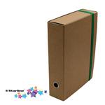 Cartella progetto con elastico - cartone FSC - dorso 8 cm - Starline