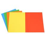 Cartelline semplici - 200 gr - 25x34 cm - mix 5 colori - Starline - conf. 50 pezzi