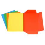 Cartelline 3 lembi - 200 gr - 25x34,5 cm - mix 5 colori - Starline - conf. 25 pezzi