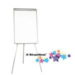 Lavagna portablocco - 70x102 cm - bianco - Starline