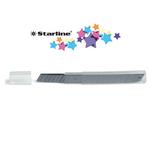 Lame di ricambio - 9 mm - universali - per cutter - Starline - blister 10 lame