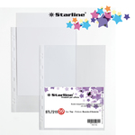Buste forate - top - buccia - 22x30 cm - trasparente - Starline - conf. 50 pezzi
