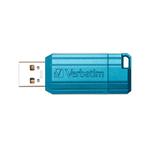 Verbatim - Usb 2.0 Store\N\Go Pinstripe - Blu caraibico - 49057 - 32GB