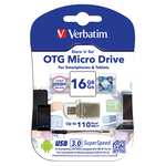 Memorie usb store \n\ go otg 2 in 1 usb 3.0 16gb