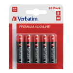Verbatim - Blister 10 Pile alkaline ministilo AA - 49875