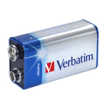Verbatim - Pila alkalina torcia - 49924 - 9V