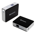 Verbatim -  pocket power pack - 5200mah,including led indicator and flash light