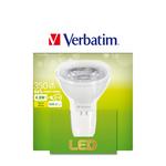 Verbatim - lampadina - led gu5.3 4.8w a 35w nd 2700k 35d 350lm