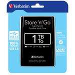 Verbatim - Hard disk Store \N\Go Usb 3.0 - Nero - 53023 - 1TB