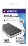 Verbatim - Hard disk Store \N\Go Usb 3.1 - 53401 - 1TB