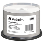 Verbatim - Scatola 50 CD-R Data Life Plus - spindle 1X-52X - 43745 - 700MB