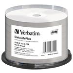 Verbatim - Scatola 50 DVD-R - stampabile - 43755 - 4,7GB
