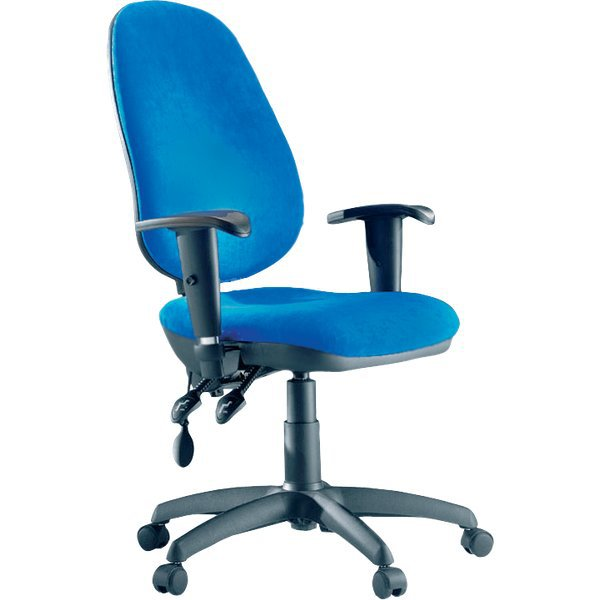 Sedia ergonomica Boogie Unisit - blu - OBOB/MB - Ufficio.com