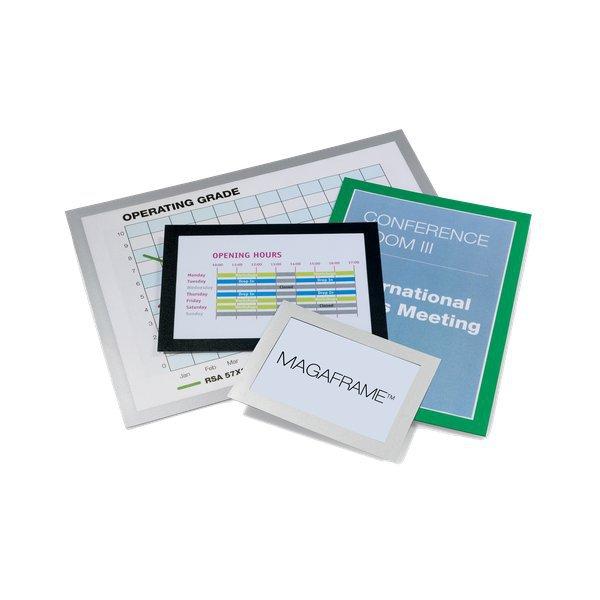 Cornici adesive magaframe durable a4 verde 4872 05 - Cornici ufficio ...