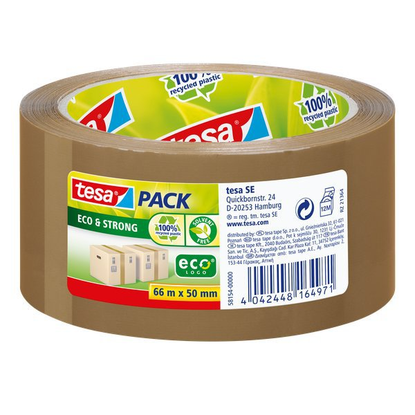 Nastro adesivo PP riciclato al 100%