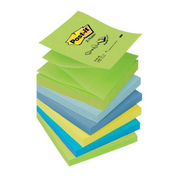 POST-IT RICARICHE POST-IT® Z-NOTE GIALLO CANARY R 330 76X76 MM