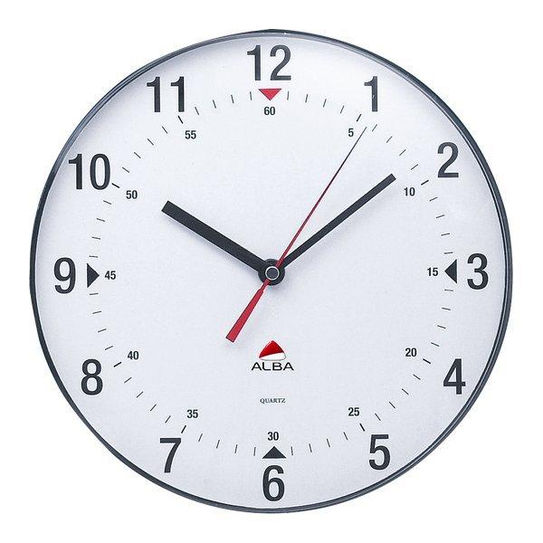 Orologio da parete horclas alba neutro 25 cm horclas for Immagini orologi da parete moderni