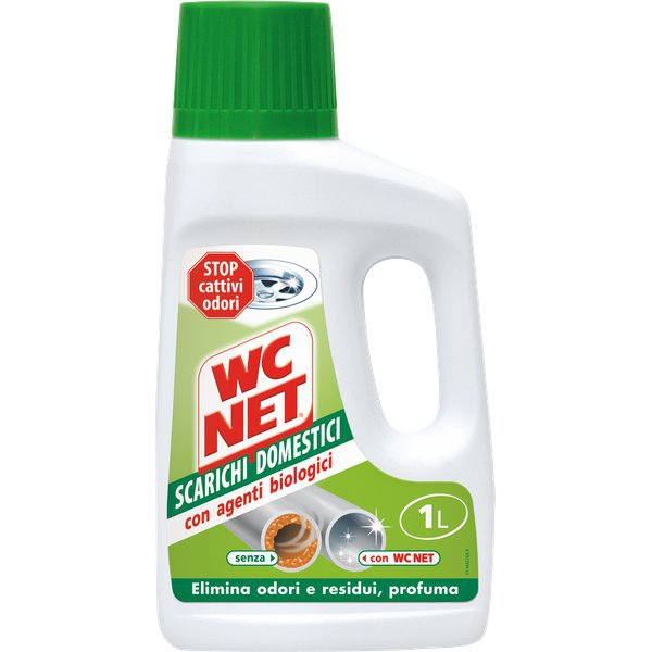 Detergente per scarichi domestici wc net 1 l m77636 for Wc net fosse biologiche prezzo