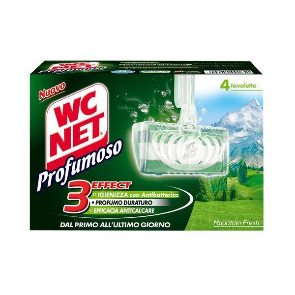 Tavolette solide igiene e profumo wc net 4 pz m77802 for Wc net fosse biologiche prezzo