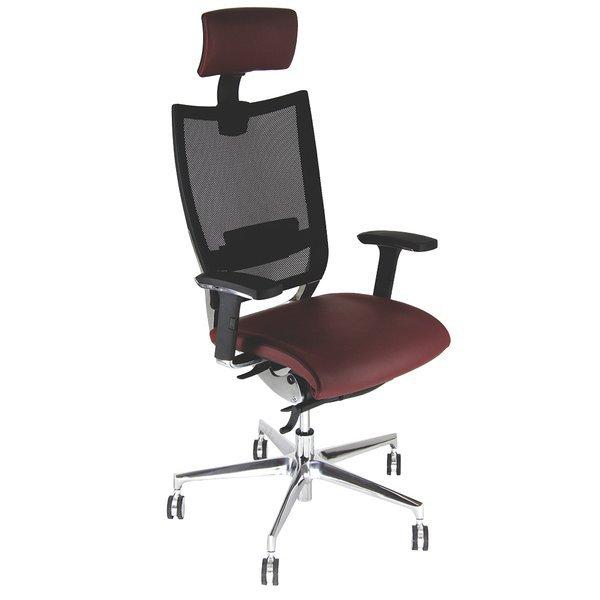 Sedia semidirezionale ergonomica CONCEPT UNISIT - pelle ...