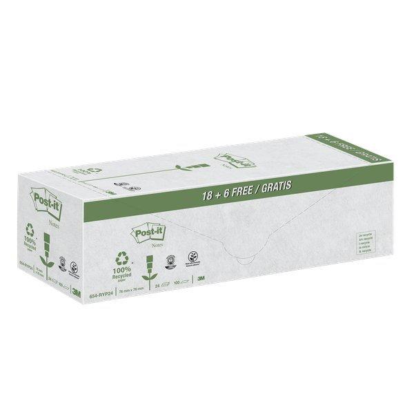 Foglietti Post-it  Notes in carta riciclata giallo Value Pack