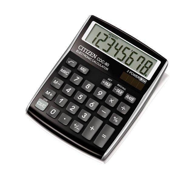 Calcolatrice solare CDC-80