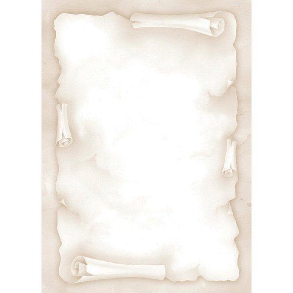 Favoloso Carta a tema Decadry - pergamena - avorio - 90 g - TSC-6720 (conf  YA97