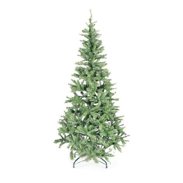Alberi di natale canadian verde 180 cm 18006 for Alberi natale artificiali