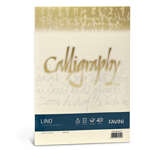 Calligraphy effetto lino