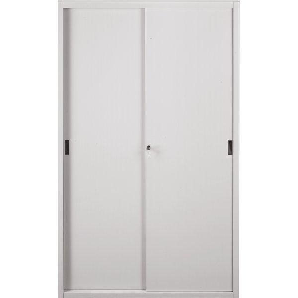 Armadi archivi a porte scorrevoli tecnical 2 grigio 4 - Armadi porte scorrevoli ...
