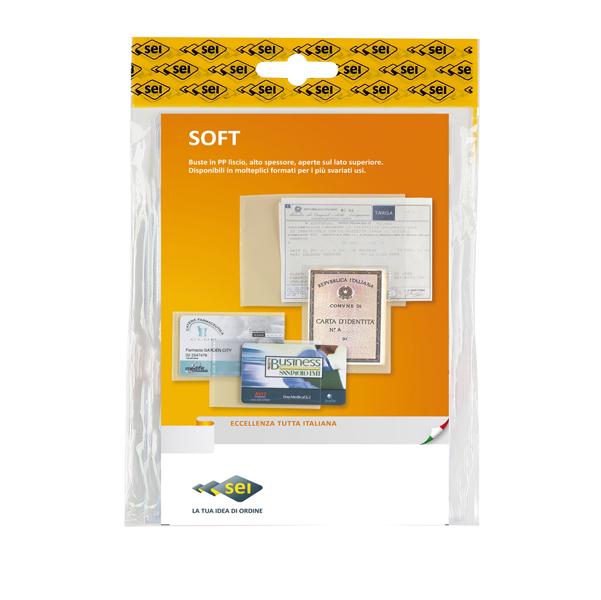 Buste a sacco Soft - PP - 300x420 mm - liscio - Sei Rota - conf. 10 pezzi