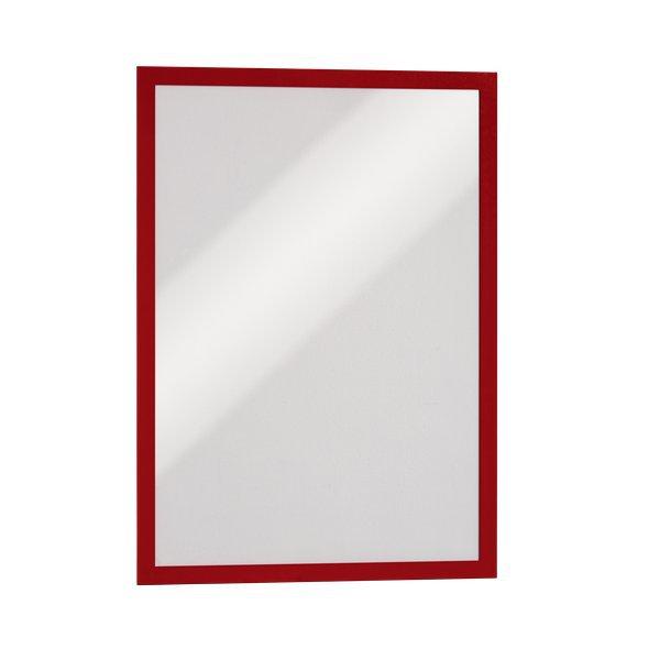 Cornici adesive duraframe durable a3 rosso 4873 03 - Cornici ufficio ...