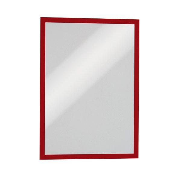 Cornici magnetiche duraframe durable a3 rosso 4868 - Cornici ufficio ...