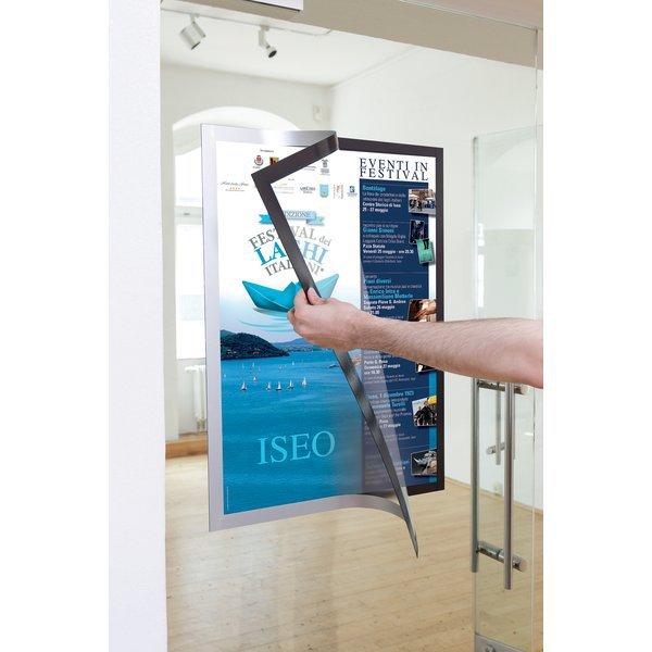 Cornici duraframe poster durable a2 argento 4995 23 - Cornici ufficio ...