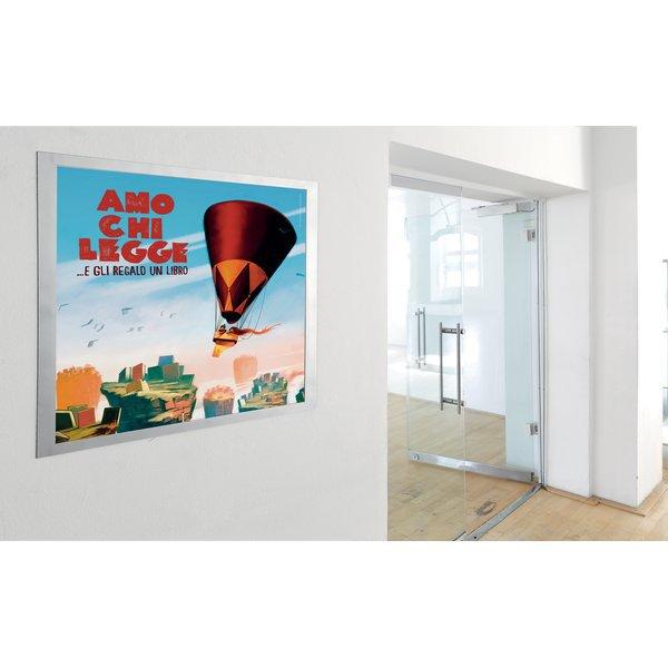 Cornici duraframe poster durable 50x70 cm argento - Cornici ufficio ...