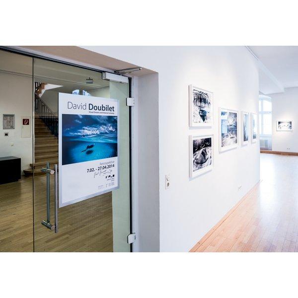 Cornici duraframe poster durable a1 argento 4997 23 - Cornici ufficio ...