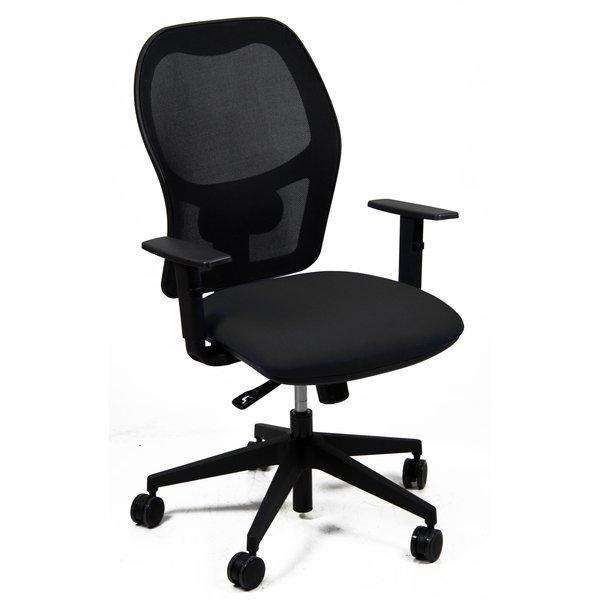 Sedia ergonomica ostuni unisit nera nera huhu br en for Sedia ergonomica