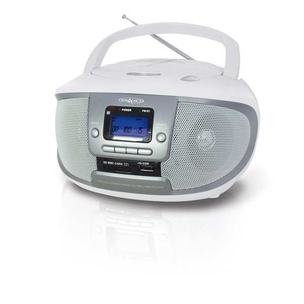 Radio-lettore CD-MP3 boombox