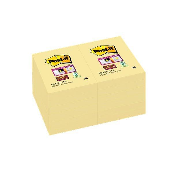 Foglietti Post-it  Super Sticky Giallo Canary